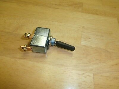 50 Amp 12vdc Spst Onoff Black Automotivemarine Toggle Switch Philmore 30-12240