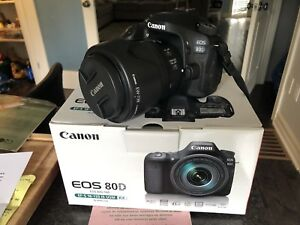 Canon 80D with 18-135 Nano USM