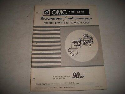 Omc Johnson Evinrude Illustrated Parts Catalog