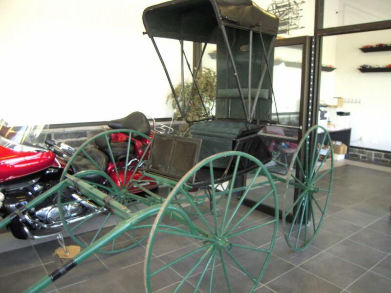 1900 Bugatti horse carriage