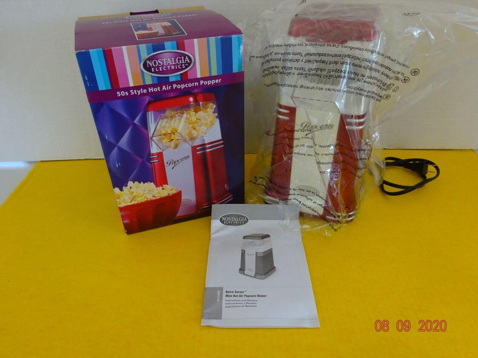 Nostalgia Retro Series 50's Style Mini Hot Popcorn Maker RHP