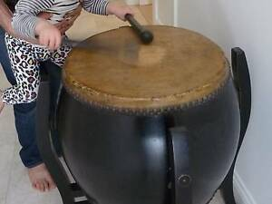 Chinese Hill-tribe drum. Play it or display it! Hawthorn Mitcham Area Preview