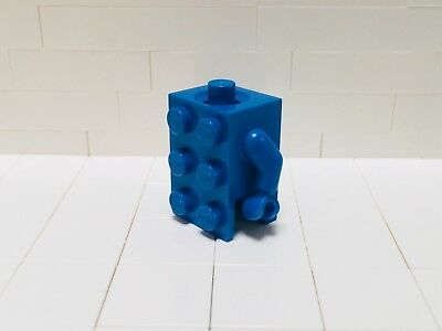 LEGO New Blue 2x3 Brick Minifigure Costume Torso with Blue Hands and - Lego Hands Costume