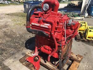 Detroit 6V92T - DIESEL ENGINE FOR SALE DDEC 475HP Model 80637K00