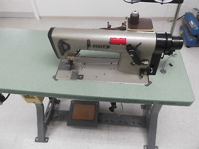 Pfaff 5487-814 Top Feed 1-needle Chain Stitch Industrial Sewing Machine 220v