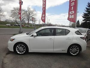 2013 Lexus CT 200h Cuir, toit, camera