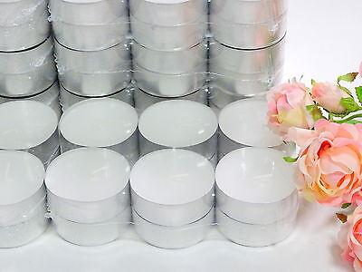 Groß 9 Lichte (24 bis 144 Stück Maxi Teelichter 9 Stunden 6 x 2cm Jumbo Maxi-Lichte Weiss Kerze)