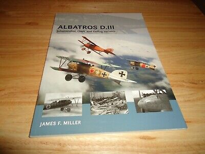 @@@ ALBATROS D.III JAMES F MILLER OSPREY AIR VANGUARD BRAND NEW @@@