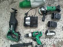 FROM $15 Hitachi 18V cordless tools and slide batteries Manly Manly Area Preview
