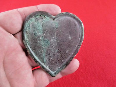 ORIGINAL DUG CIVIL WAR HEART MARTINGALE RECOVERED MUFREESBORO TN