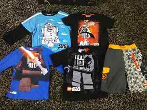Boys Size 6 STAR WARS shirts & boardies Georgetown Newcastle Area Preview
