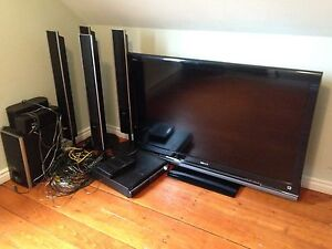 Sony Tv and Entertainment Center