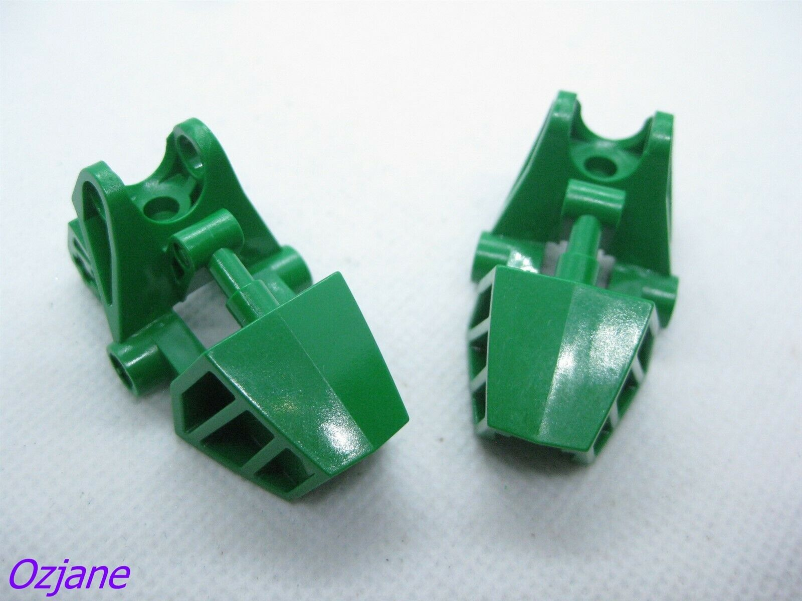 LEGO PART 32475 GREEN BIONICLE FOOT BALL JOINT SOCKET
