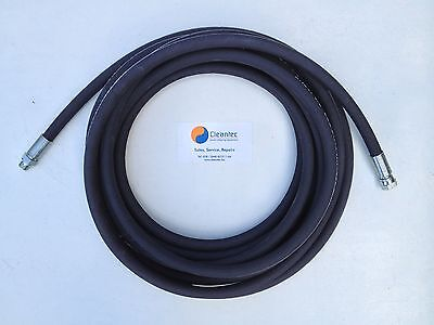 15 Metre Heavy Duty 38 Bsp Power Washer Hose Hotcold Steam Cleaner Jet Wash