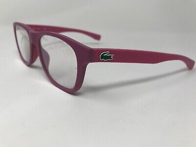 LACOSTE Petite Eyeglasses Frame Womens L3620 526 48-16-130 Matte Pink (Lacoste Womens Glasses)