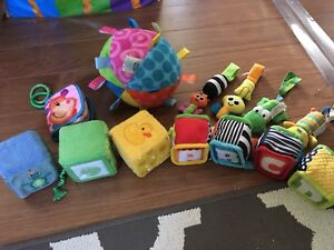 Baby soft toy lot