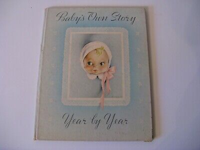 Vintage~Baby's Own Story, Year by Year~Whitman 1941 Baby Record Book~Cecile Lamb