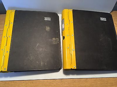 Atlas Copco Roc L8 Hydraulic Track Drill - Parts Manual Catalog -2 Volume Set