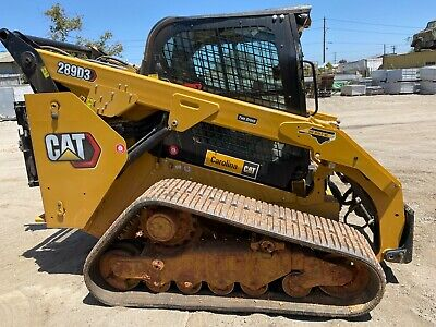 2021 Cat 289d3 Cab Ac High Flow Track Skidsteer Loader Caterpillar 289 60 Hrs