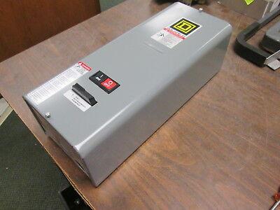 Square D Size 0 Enclosed Starter 8536sb02s 600v 5060hz Used