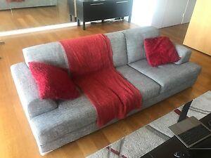 Grey 3 Seat Sofa Elizabeth Bay Inner Sydney Preview