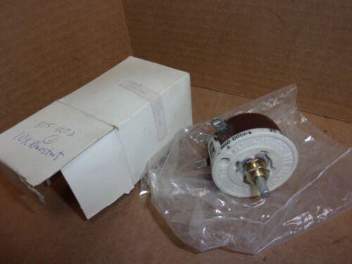Memcor R50 Rheostat , .07 amp , 9704 , New