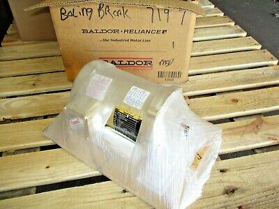 Baldor - Reliance .33 Hp Motor Fr 56c 230460 V 3450 Rpm 35250j Nib