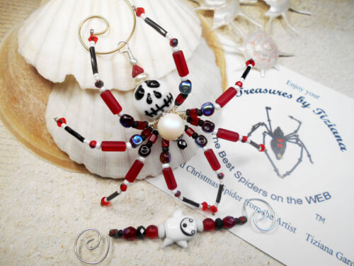 TreasuresbyTiziana® Nightmare Before Christmas Jack Skellington Spider Ornament