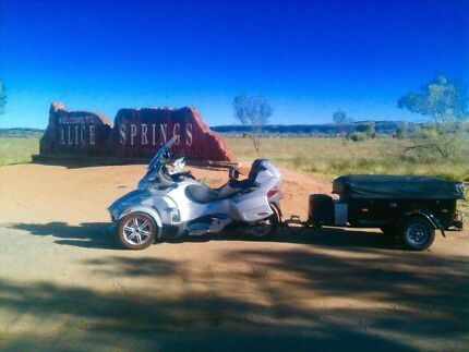CAN AM SPYDER AND CAMPER TRAILER, PLUS DRIV ON TRAILER FOR BIKE Chandler Brisbane South East Preview