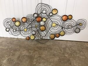 Large wire wall art