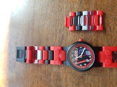 Lego Star Wars Watch Kids Toy Darthfader small wristwatch