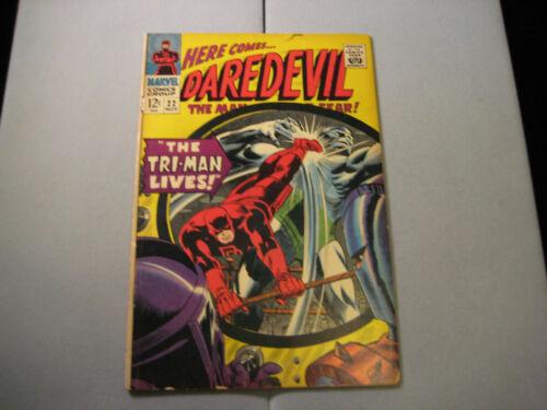 Daredevil #22 (1966 Marvel) Low Grade