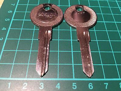 Citroen ZX Bj 1991-94 Schlüsselrohling Silca Profil SX6GP
