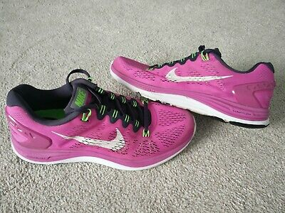 Nike Lunarglide 5 Trainers Size 8 EUR 42.5 In Very Good Condition