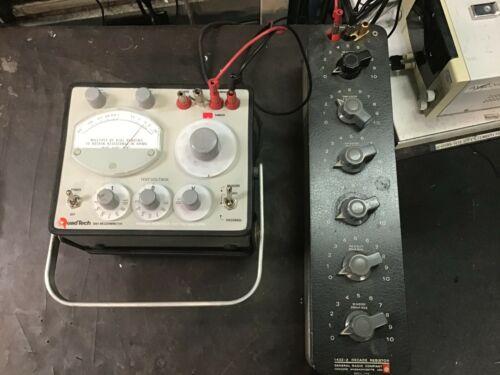 General Radio Gen Rad Quadtech 1864 Megohmeter TESTED