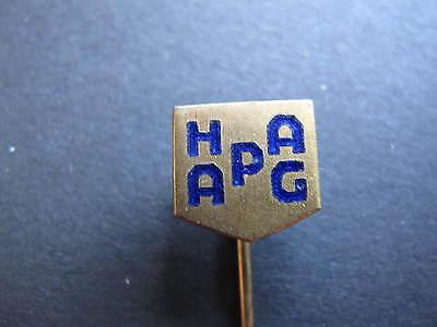 alte Original Anstecknadel HAPAG