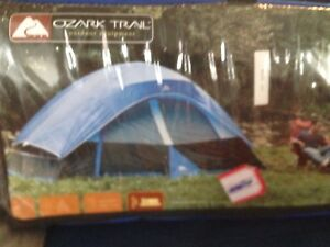 New tent and cot