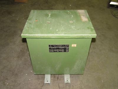 Paul Prengel Ptu 10 Transformer 10kva 575380v 17.7926.32a 5030hz Xlnt