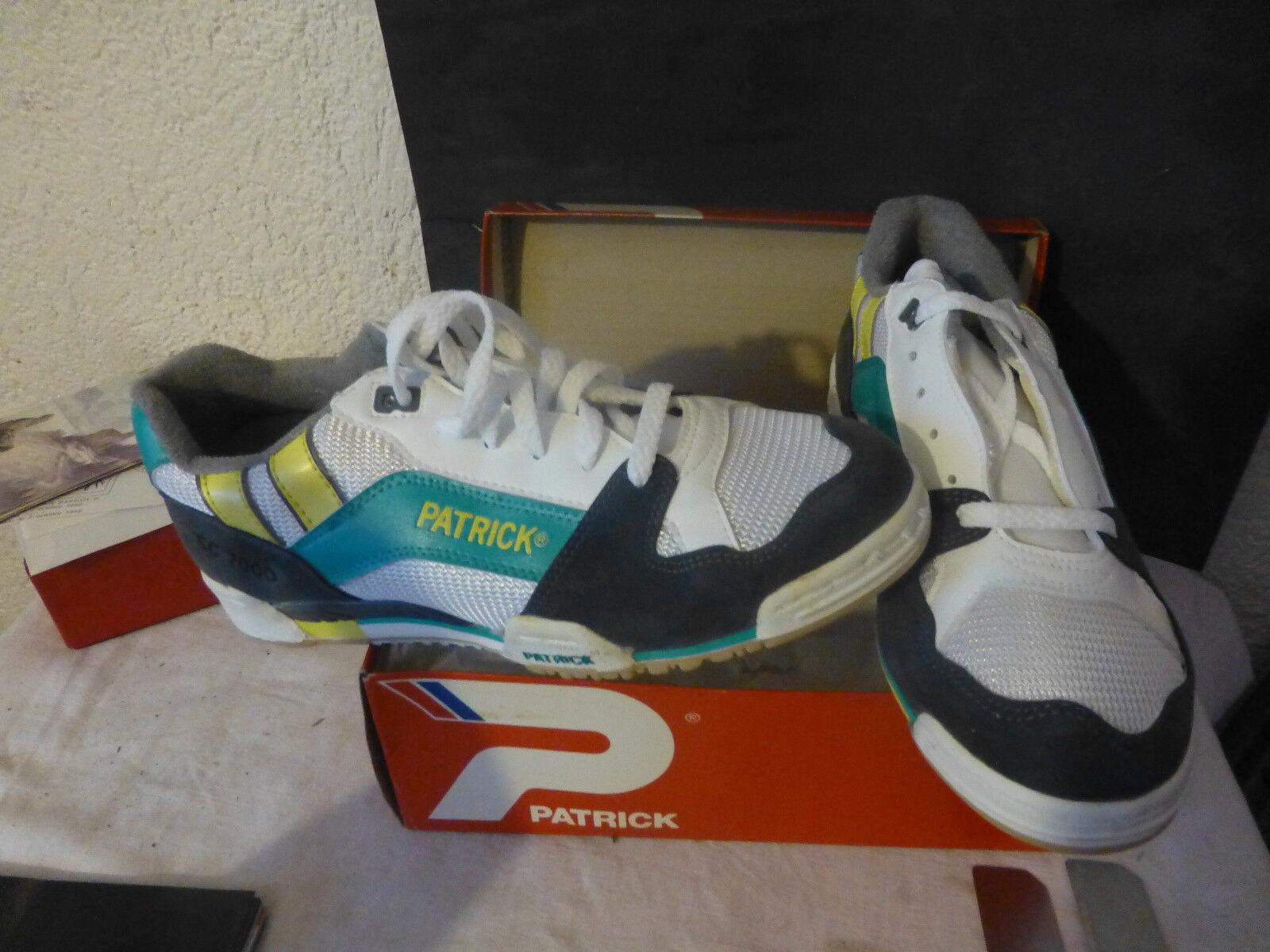 Baskets chaussures de sport patrick sc 7000 comme neuve pointure 40