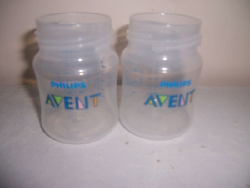 Avent  2   bottoms bottle only 4 oz size