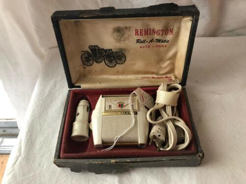 Vintage Remington Roll-a-Matic Auto Home Electric Razor