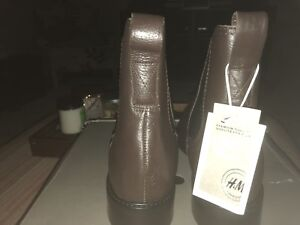 Women's Leather Chelsea Boots - size 8.5 PRICE REDUCED