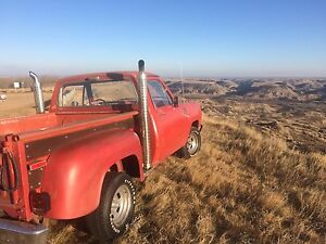 For Sale DODGE Lil Red Express truck exhaust STACKS