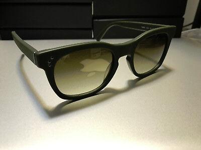 SHAUNS OF CALIFORNIA SUNGLASSES *TWEED* MODEL IN MATTE GREEN BRAND (Shauns Sunglasses)