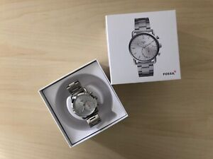 Fossil Hybrid Smartwatch Q Commuter Stainless Steel Ftw1153