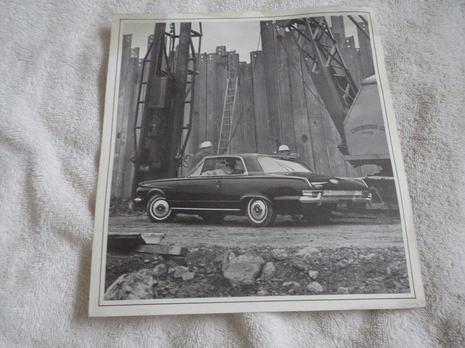 1963 PLYMOUTH VALIANT FLEET CAR FOR BUSINESS ORIGINAL DEALERSHIP SALES BROCHURE