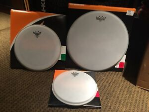 New drumheads 10 12 16