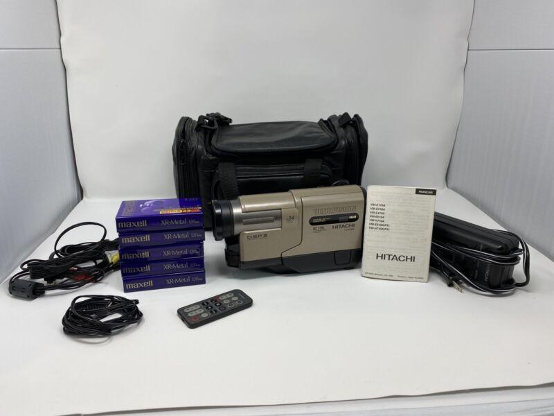 Hitachi Camcorder VM-H710A HI8-8mm (see description)