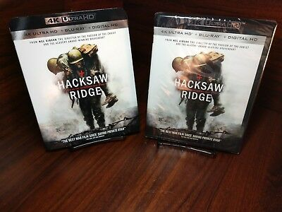 Hacksaw Ridge (4K Ultra HD+Blu-ray+Digital)Collector Slipcover-NEW-Free Shipping for sale  Columbia
