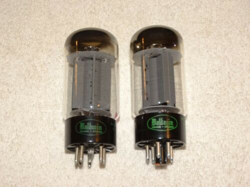 2 x Sylvania Tubes*Very Strong Matched Pair*1962*READ*